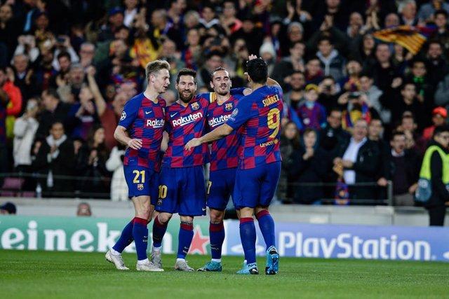 Fútbol/Champions.- Crónica del FC Barcelona - Borussia Dortmund, 3-1