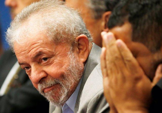 Imagen de archivo del expresidente de Brasil Lula
