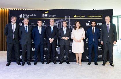 Alfonso Sesé y Clemente Loriente,finalistas por Zona Centro al Premio Emprendedor del Año de EY