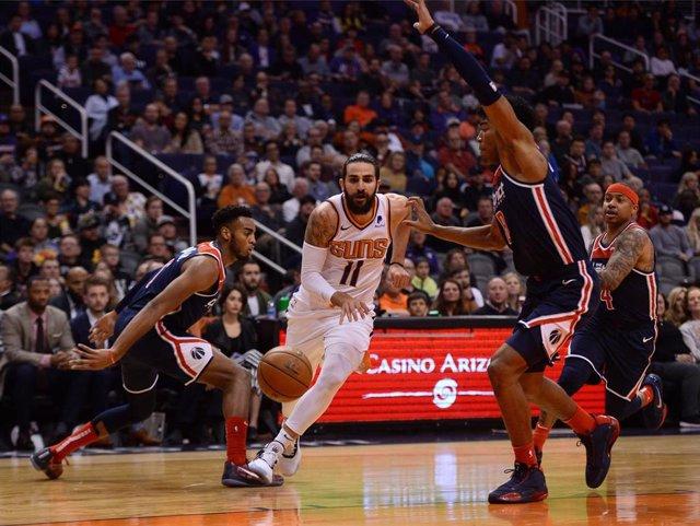 Ricky Rubio en el Washington Wizards - Phoenix Suns