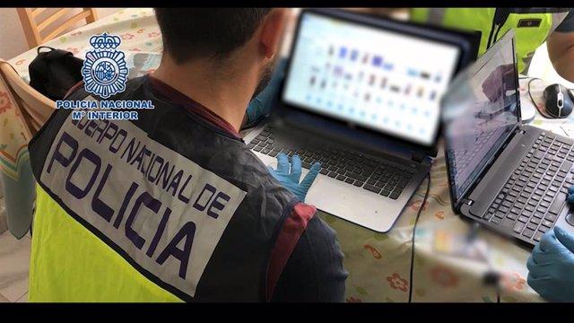Operación Policía contra la producción y distribución de material pedófilo, en una imagen de archivo