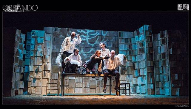 Escena de 'Orlando' que podrá verse el próximo miércoles en el Auditorio Ciudad de León.
