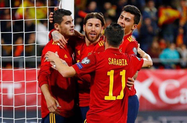 La selección española golea a Malta en la penúltima jornada de clasificación para la Eurocopa 2020