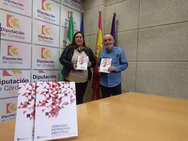 Navajas y Olivares presentan el libro 'Jornadas sobre patrimonio insdustrial. Los retos del siglo XXI'