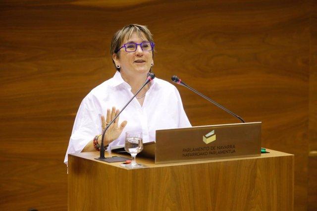 Marisa de Simón, parlamentaria de I-E.