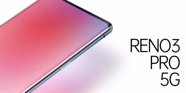 Oppo Reno3 Pro 5G tendrá un grosor de 7,7mm y pantalla con bordes curvos