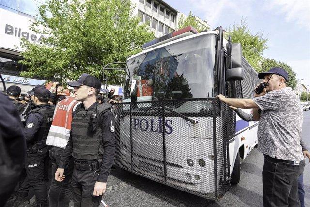 Policía de Turquía (imagen de archivo)