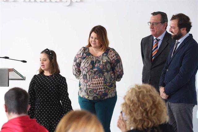 La Diputación de Málaga incorpora a once personas con síndrome de down para realizar prácticas formativas en la institución
