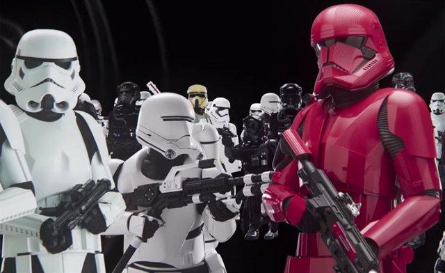 Evolución de los Stormtroopers de Star Wars