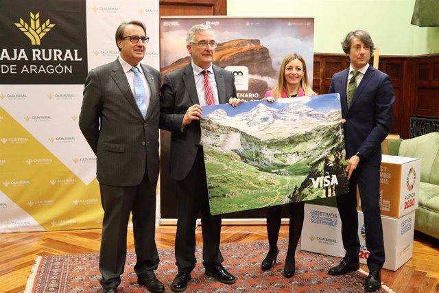 Caja Rural de Aragón lanza VISA Ordesa, una tarjeta de pago biodegradable para l