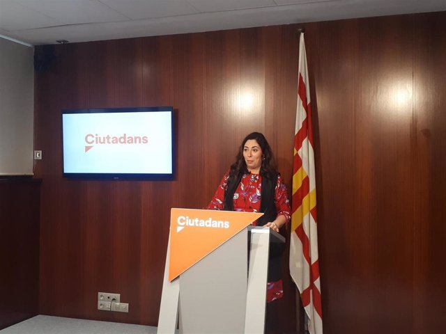 La líder de Cs en Barcelona, Luz Guilarte.