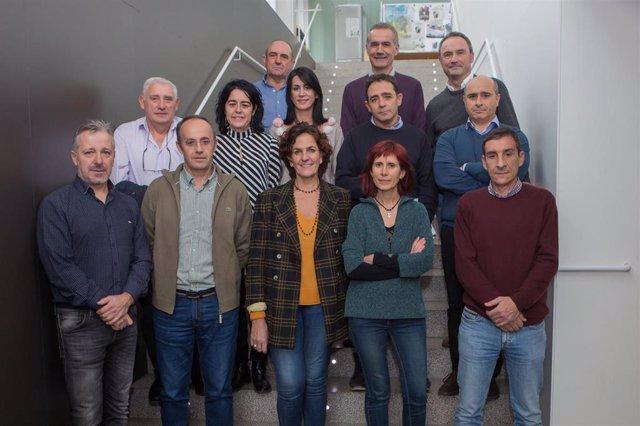 La consejera Gómez con el resto de participantes en el Consejo Agrario