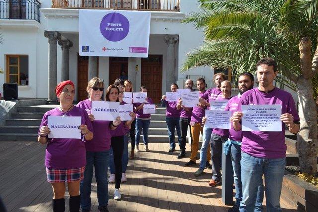 Punto Violeta de Cruz Roja Las Palmas