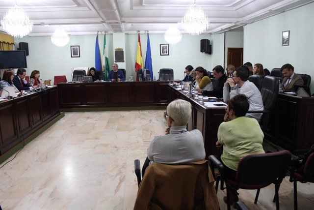 Pleno del Ayuntamiento de San Juan