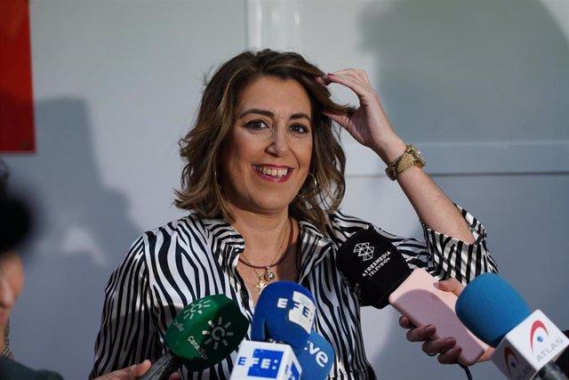 La secretaria general del PSOE-A, Susana Díaz, en una foto de archivo