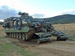 El nuevo Vehículo de Combate de Zapadores (VCZ) 'Castor'.