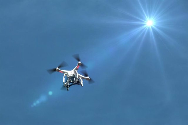 Imagen de recursos de un drone.