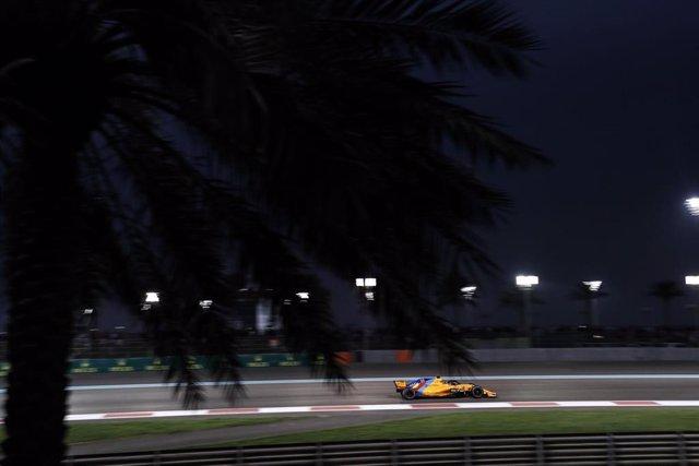 McLaren en el GP Abu Dabi 2018