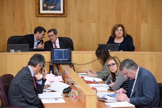 Imagen del pleno ordinario de noviembre celebrado en la Diputación de Granada