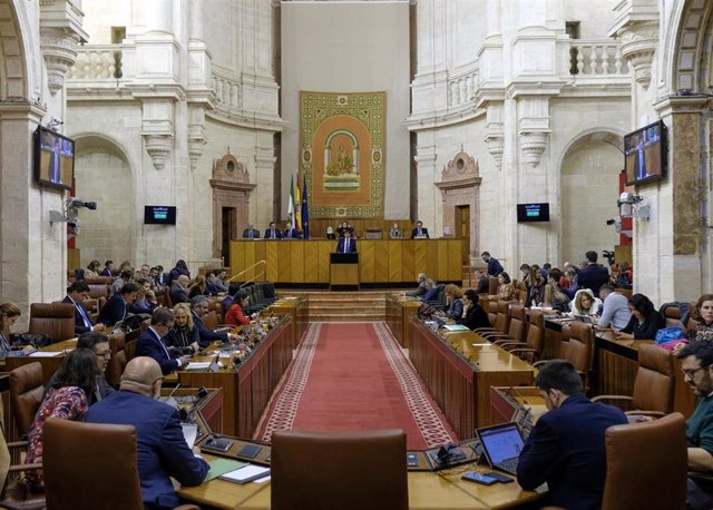 El Pleno del Parlamento andaluz