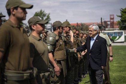 """Chile.- Piñera pide a las fuerzas de seguridad actuar sin """"tibieza"""" porque se enfrentan a un """"enemigo poderoso"""""""