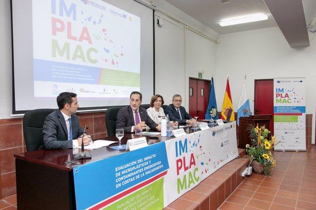 Presentación del IMPLAMAC en la Universidad de La Laguna