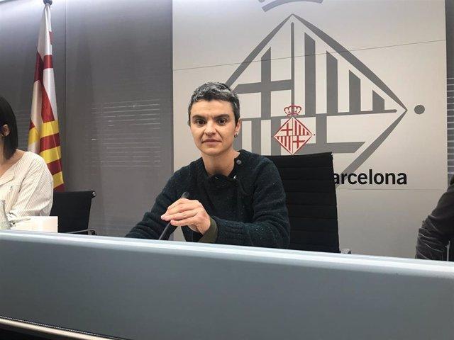 La concejal de Vivienda de Barcelona, Lucía Martín.