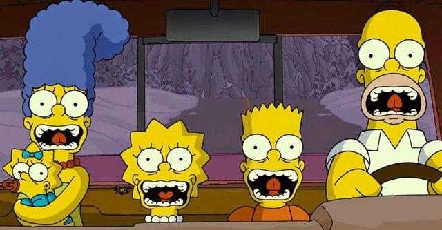 Imagen de la serie Los Simpson