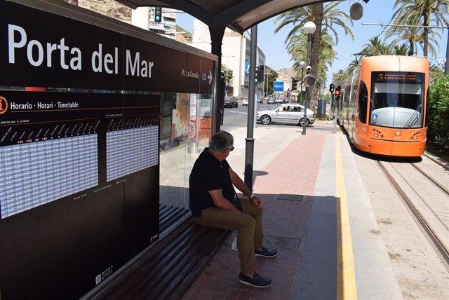 Estación de Porta de la Mar del TRAM de Alicante