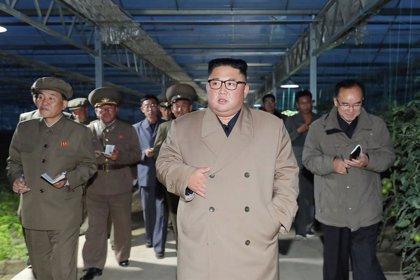 """Corea.- Kim Jong Un expresa su """"gran satisfacción"""" con la última prueba con un lanzacohetes múltiple de gran calibre"""