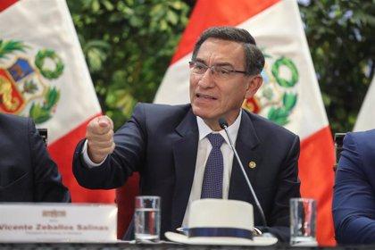 """Perú.- Vizcarra alerta de que Perú """"no está libre de protestas"""" si no se reduce la brecha social y la corrupción"""