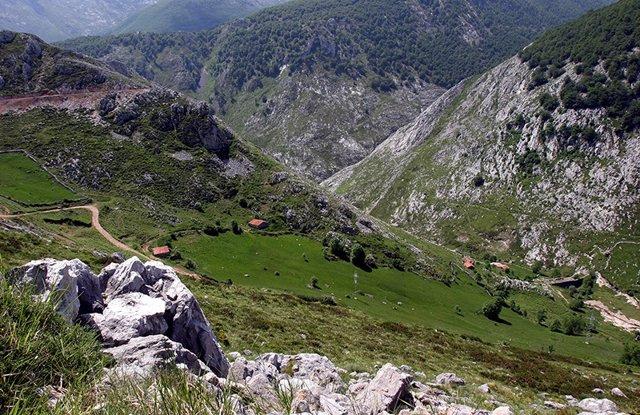 Paisaje de montaña de Cantabria