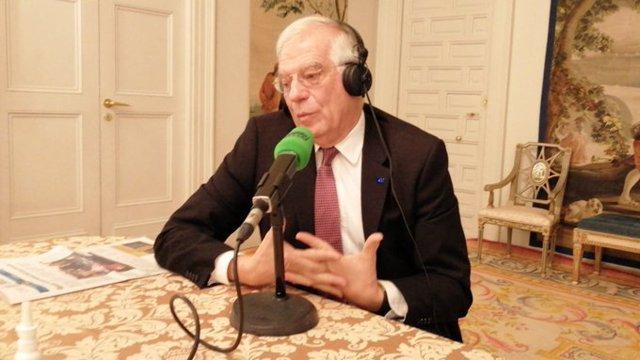 Entrevista al ministro de Asuntos Exteriores, UE y Cooperación en funciones, Josep Borrell
