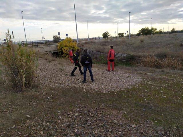 Los Bomberos de Guadix en la búsqueda