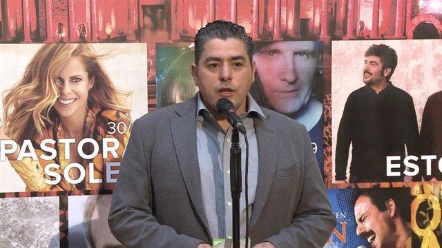 El director del Stone & Music Festival, Carlos Lobo