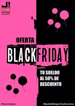 Campaña de CCOO por el Black Friday