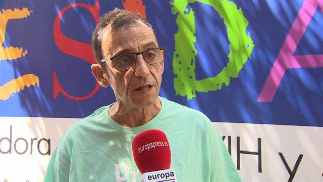 Presidente de la Coordinadora Estatal de VIH CESIDA, Ramón Espacio
