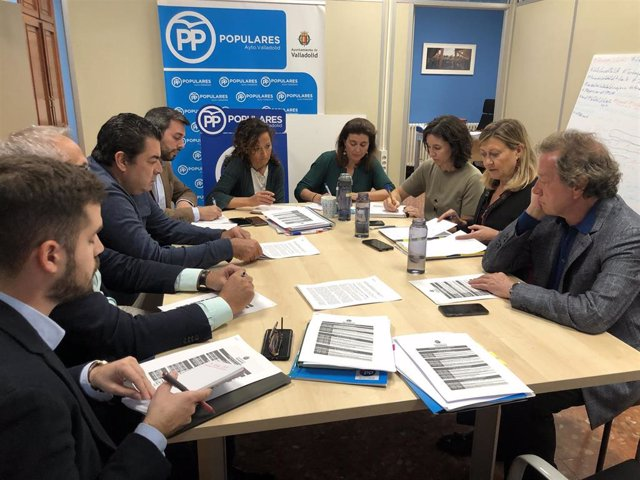 Grupo Municipal Popular en el Ayuntamiento de Valladolid.