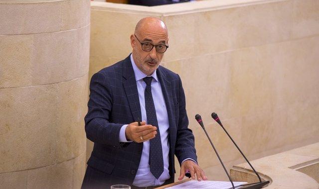 El portavoz autonómico de Cs Cantabria, Félix Álvarez