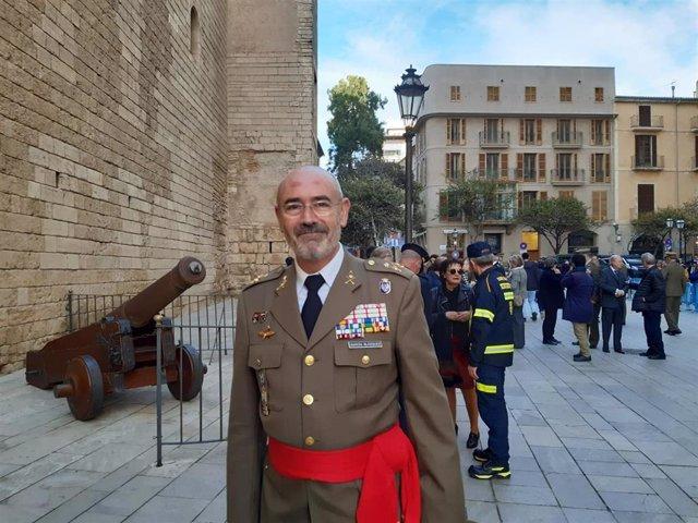 El nuevo comandante general de Baleares, el general Fernando García Blázquez.