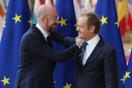 """UE.- Tusk se despide de la UE apelando a su unidad y Michel promete un """"estilo propio"""" y """"más cauto"""""""