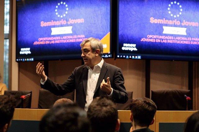 El líder de Ciudadanos en el Parlamento Europeo, Luis Garicano.