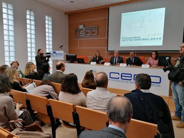 Silas (dcha.) en el Networking de Empresas Turísticas y Complementarias