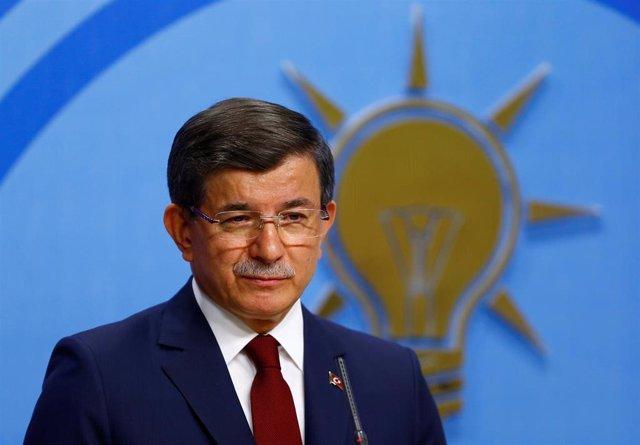 Ahmet Davutoglu, antiguo primer ministro de Turquía