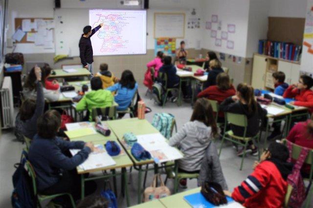 Imagen de recurso de un colegio