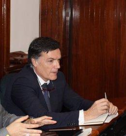 Guillermo Pérez-Cossio, concejal de Vox en el Ayuntamiento de Santander