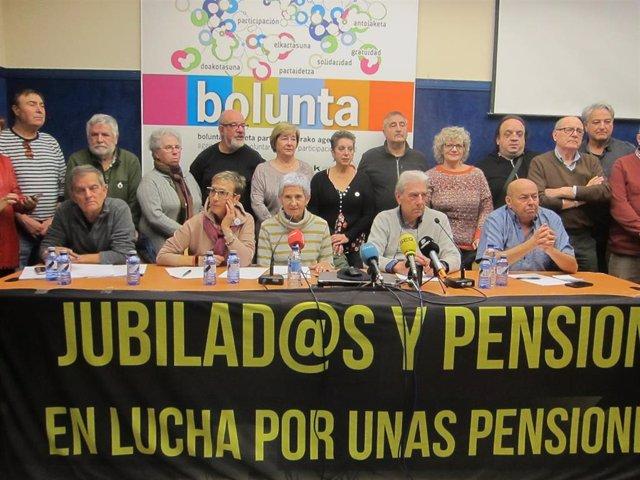 Movimiento pensionistas vascos se desmarca huelga general
