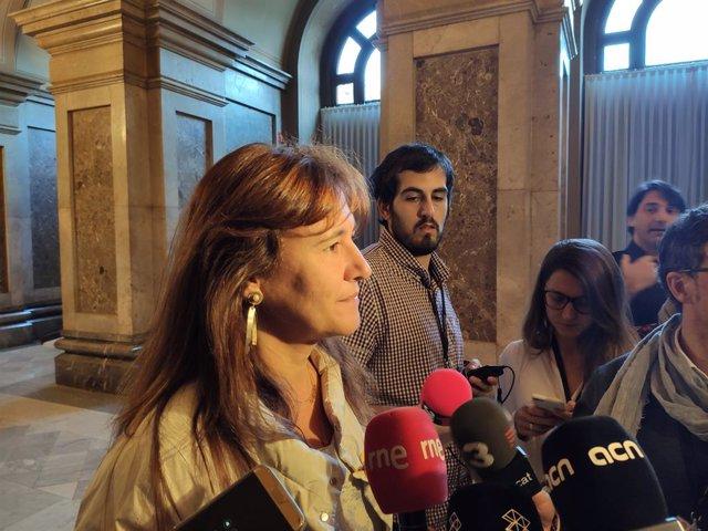 La portaveu de JxCat al Congrés, Laura Borràs