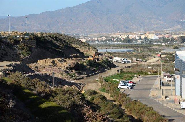 Tramo Río Andarax-Puche del AVE sobre el que no se han empezado aún las obras