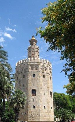 Torre del Oro, en Sevilla.